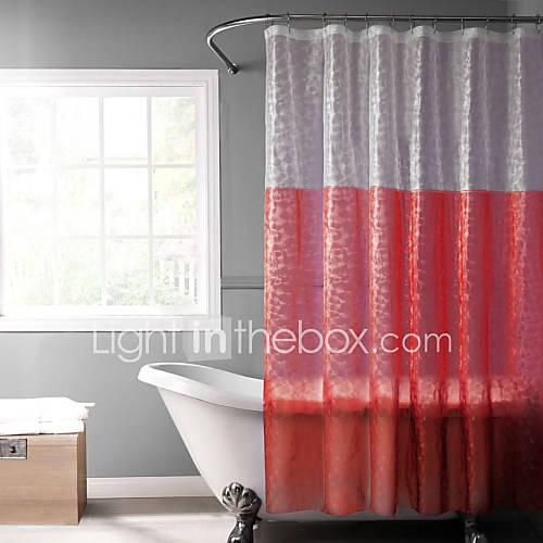 Eva rouge 3d rideau de douche avec fen tre de 2050424 2016 - Rideau de douche rouge ...