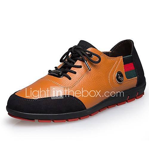 Chaussures Hommes Comfort faible talon chaussures de mode en cuir avec lacets chaussures de sport plus de couleurs disponibles