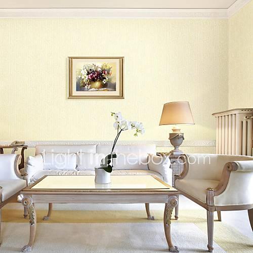 Klassieke eetkamer behang patroon - Color marfil en paredes ...