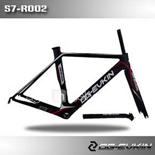 og S7-G001 carbone UD bb68 di2 / cadre de la bicyclette de frein v mécanique og-evkin