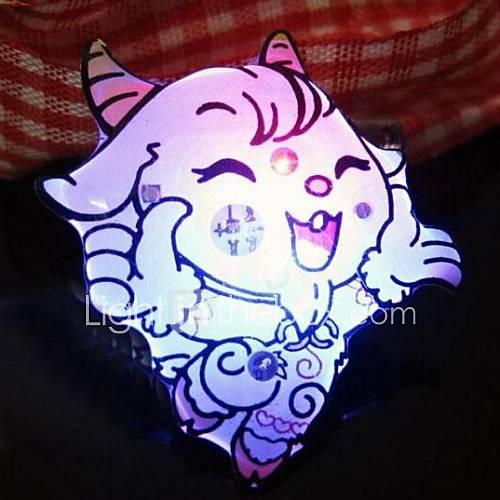 la Broche décorations moutons lueur de partie (couleur aléatoire)