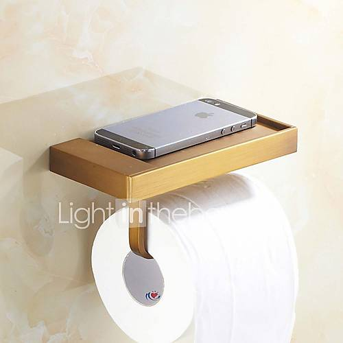 Antique brass wall mounted toilet roll holder 2632301 2016 Antique toilet roll holders