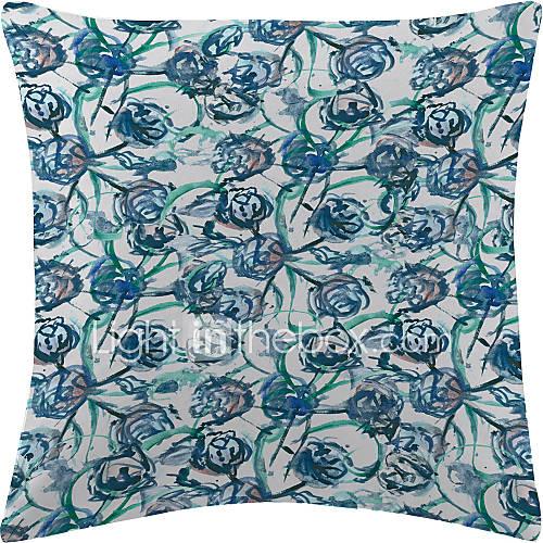 twopages u00ae blauwe bloemen netto fluwelen decoratieve kussensloop 2638061 2016  u2013 $7 19