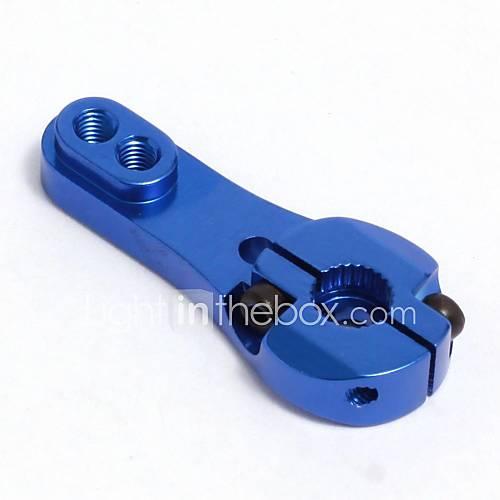 neewer servo corne de bras réglable devoir métal lourd pour Futaba towrepro mg bleu as de 25t