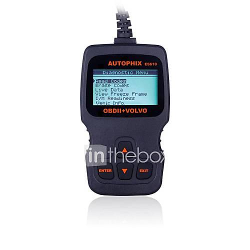 autophix diagnostic volvo outil  obd2 obdii scanner professionnel es610