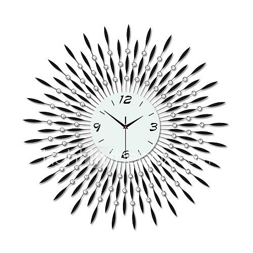 Modern large size round iron wall clock 2554307 2016 - Oversized modern wall clock ...
