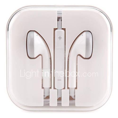Pisen hxk005 hifi prise de casque 3,5 mm de style d'oreille élégant portable de jeu casque micro de fil pour pc iphone 6 / 6plus