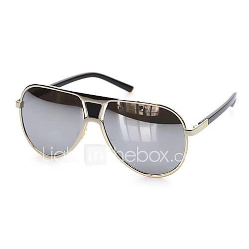 Aviateur plastique rétro lunettes de soleil 100% UV des hommes