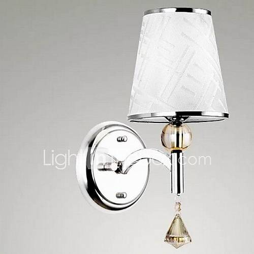 chiffon simple lampe de mur de l'hôtel de la lampe murale lron continental