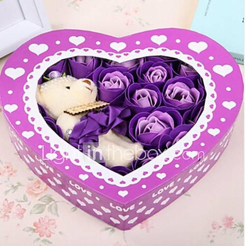 presente-do-dia-20pcs-amor-romantico-rosas-sabao-flores-dos-namorados-com-um-urso