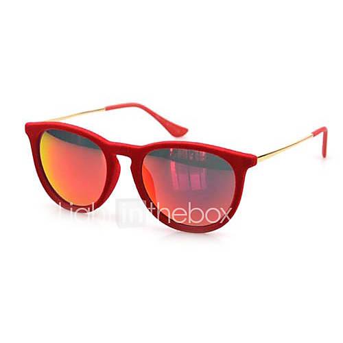 Wayfarer velours rétro lunettes de soleil 100% UV de femmes