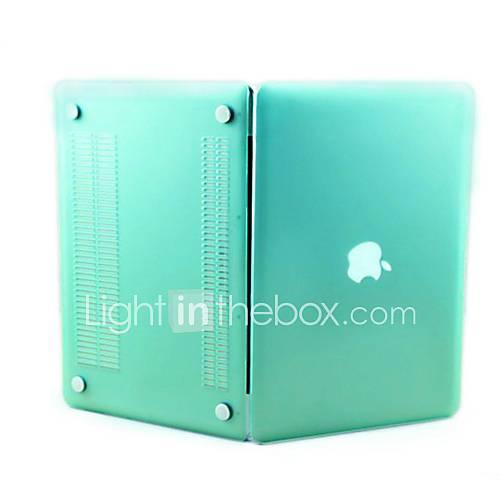 sench borracha fosco fosco revestido clipe de casca dura caso snap-on tampa da pele para Apple MacBook Pro 15.4