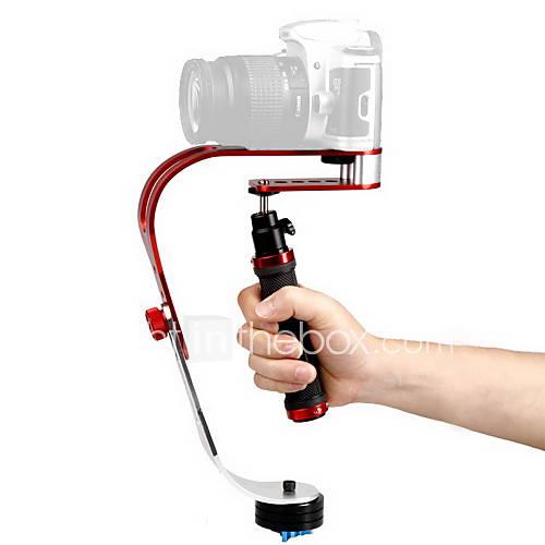 debo-video-handheld-estabilizador-uf-007-para-slr-camera-red-black-sliver