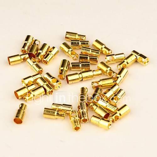 neewer connecteur 20 paires 6.0mm 6mm de balle d'or pour la batterie rc