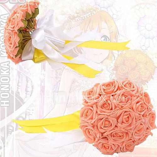 love-live-multicolor-cartao-sr-bouquet-de-noiva-flores-do-casamento-cosplay