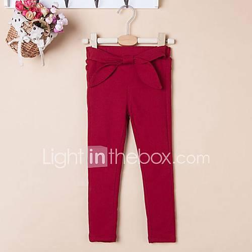arc épais pantalon basique de fille