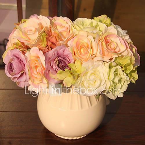 Hochzeitsblumen Brautstr U E Blumen Romantische Hochzeit