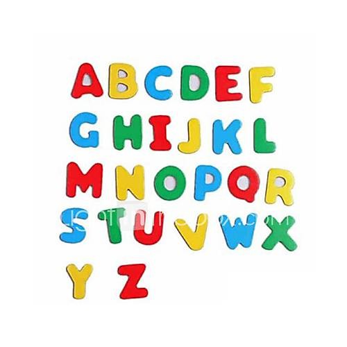 colorful wooden letters and numbers both magnetic stickers With wooden magnetic letters and numbers