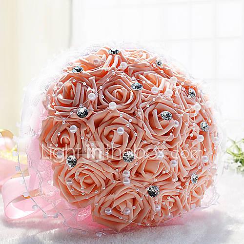 Букет из роз на свадьбу своими руками
