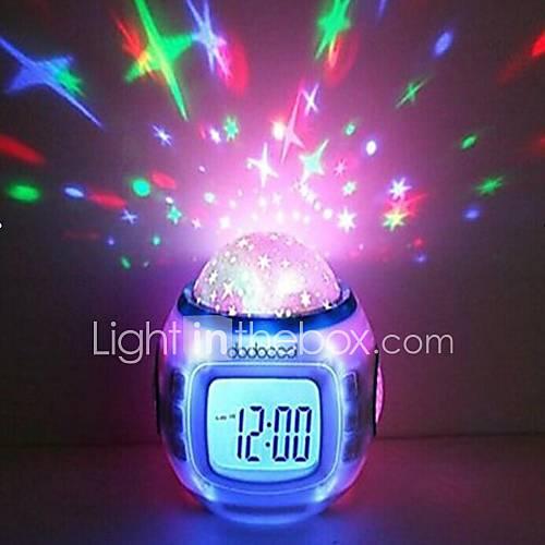 nueva sala de niños de la manera cielo asombroso reloj despertador estrellas Descuento en Lightinthebox