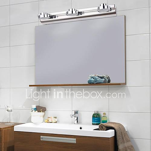 Iluminacion Baño Moderno:Stainless Steel Bathroom Lights LED
