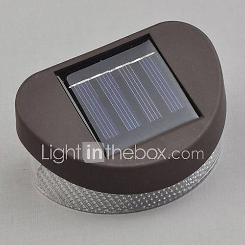 Modern Rechargeable LED Solar Wall Light Garden Wall Lights 780219 2016 USD 19.49