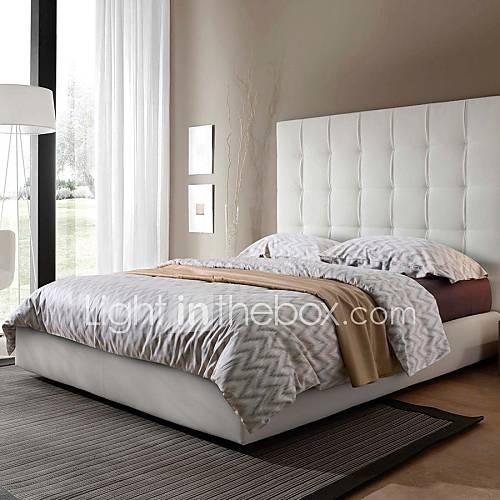 light grey beige wave pattern cotton 60s king queen duvet cover sets of 4pcs 2828637 2016. Black Bedroom Furniture Sets. Home Design Ideas