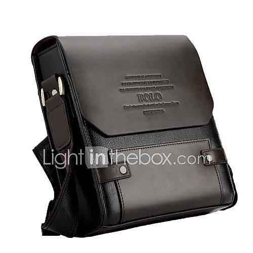 Bolso de Hombro PU - Marrón - Hombre Descuento en Lightinthebox
