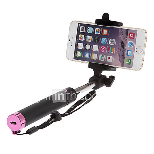 extendable wireless selfie stick camera tripod monopod for cellphone included iphone 4 5 6. Black Bedroom Furniture Sets. Home Design Ideas