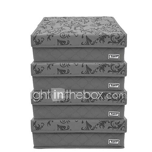 bo te de rangement sous v tements en fibres de bambou. Black Bedroom Furniture Sets. Home Design Ideas