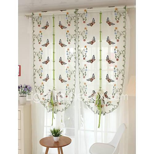 "One Panel 32""W*97""L(83cmW*248cmL)Floral Botanical"