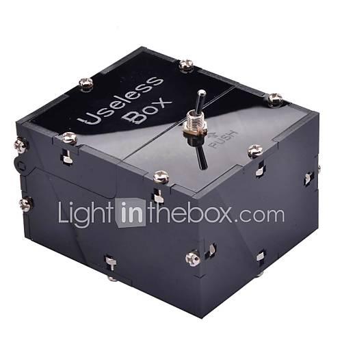 neje Mini inútil juguete caja de la máquina totalmente ensamblada me deja solo cuadro negro Descuento en Lightinthebox