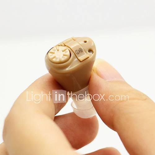 mejor audífono digital ayuda de mini ite tono ajustable sonido voz amplificador Acousticon Descuento en Lightinthebox