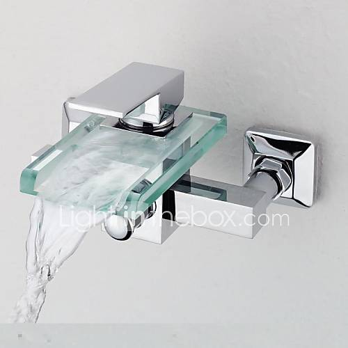 zeitgen ssisch badewanne dusche wasserfall with messingventil einzigen handgriff zwei l cher. Black Bedroom Furniture Sets. Home Design Ideas