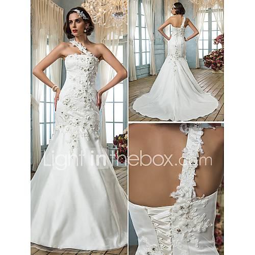 Bridal gowns petite sizes : Lanting bride trumpet mermaid petite plus sizes wedding