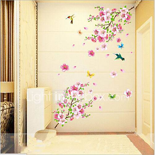 Animales bot nico romance naturaleza muerta de for Pegatinas decorativas pared