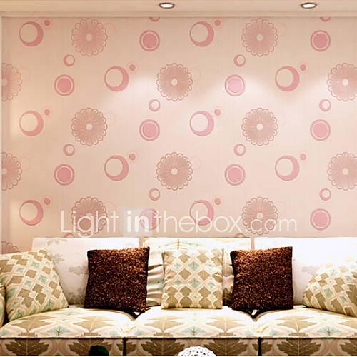 moderne tapete blumenimport deutschland moschus 3d blumen designs rosa farbe wandverkleidung. Black Bedroom Furniture Sets. Home Design Ideas