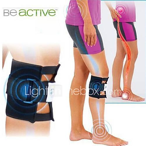 beActive punto de presión corsé dolor de espalda acupresión nervio ciático ser almohadillas piernas rodilla codo Activo Deportes protectora Descuento en Lightinthebox
