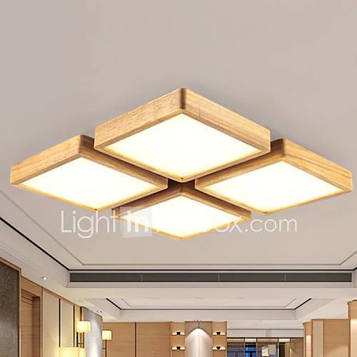 lampu lampu rumah tamu kayu siling bilik moden lampu reka bentuk
