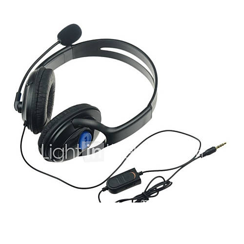 gaming chat headsets with microphone for ps4 wireless. Black Bedroom Furniture Sets. Home Design Ideas