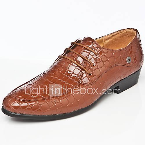 Zapatos de hombre oxfords boda oficina y trabajo for Zapatos de trabajo blancos