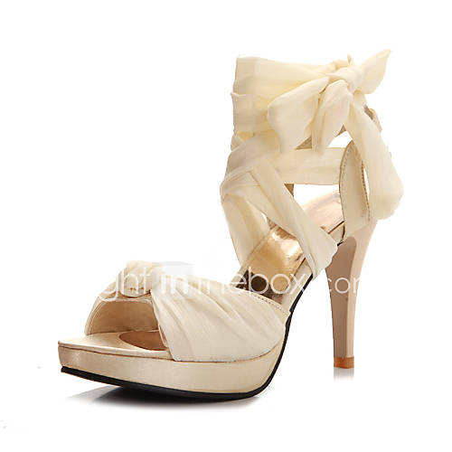 Zapatos de mujer tac n stiletto tacones sandalias for Zapatos para boda en jardin