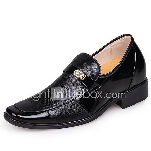 Zapatos de hombre mocasines oficina y trabajo cuero negro - Zapatos de trabajo ...