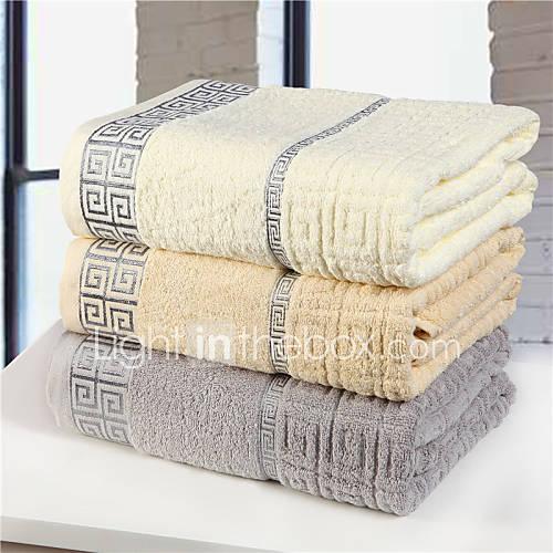 Yuxin Bath Towel 100 Cotton Soft Comfortable Beige Grey Light Brown 3059433 2016