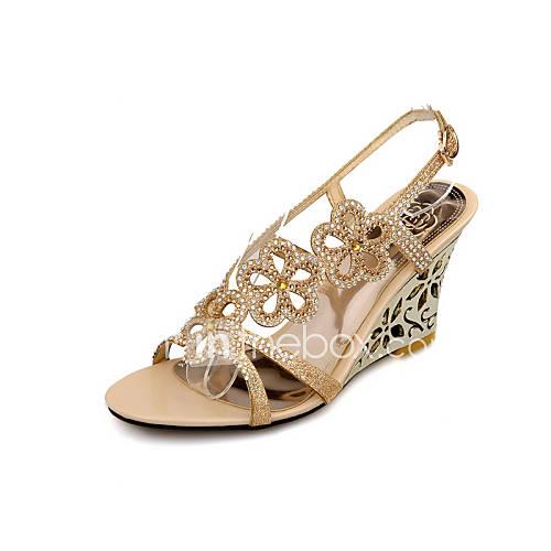s shoes glitter wedge heel wedges slingback sandals