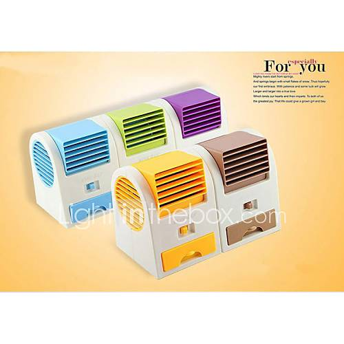 Battery Operated Air Conditioner : Usb battery operated electric air conditioning fan random
