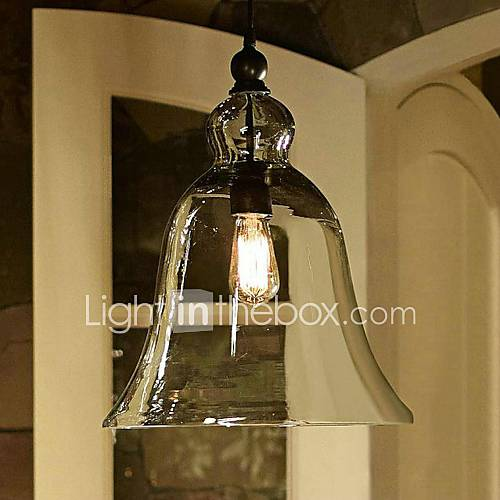 MAX:60W Pendant Light , Country Painting Feature For Mini