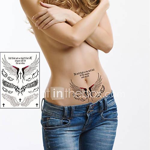 Tatuajes Adhesivos – Non Toxic/Parte Lumbar/Waterproof – Otros – Niños/Mujer/Hombre/Adulto/Juventud – Multicolor – Papel – 1 – Lightinthebox