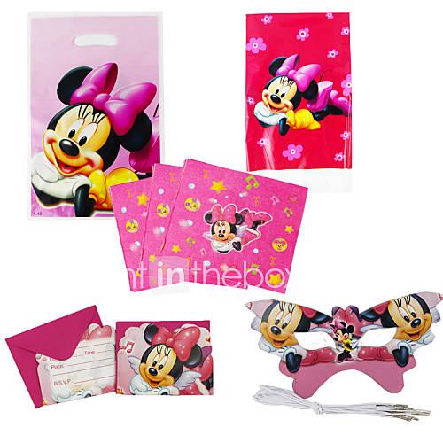 75pcs minnie mouse cumplea os del beb decoraci n for Decoracion cumpleanos bebe 1 ano