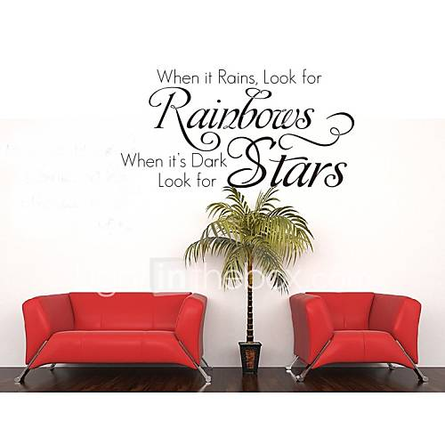 Home decoration quotes wall decals zy8140 living room wall for Living room quote stickers